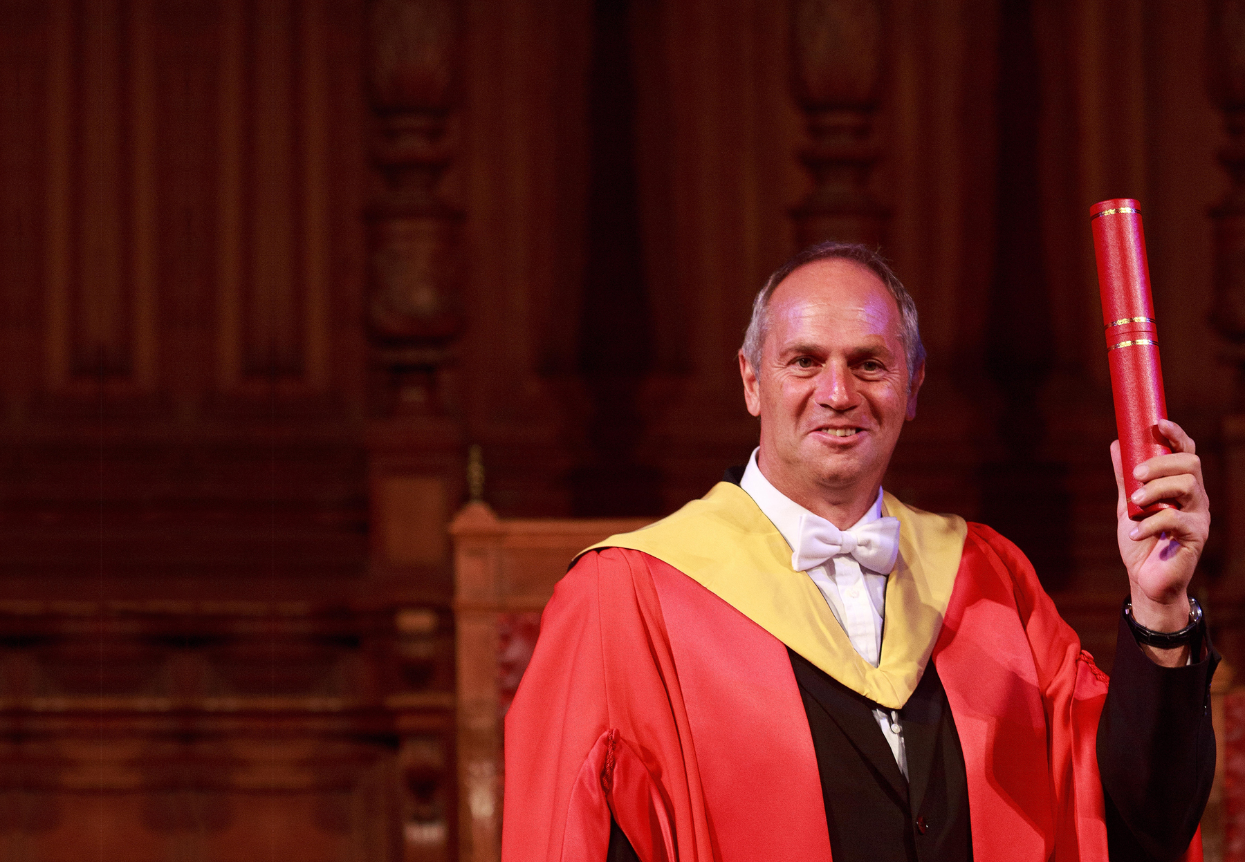 Overcoming Obstacles, Sir Steve Redgrave